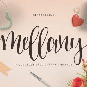 Mellany Typeface