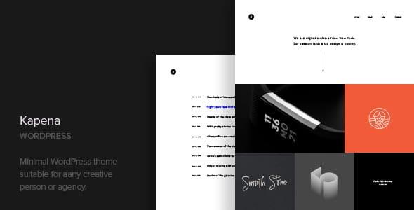 Kapena - Minimal Portfolio WordPress Theme