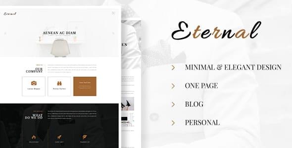 Eternal - Personal Elegant HTML Blog Template