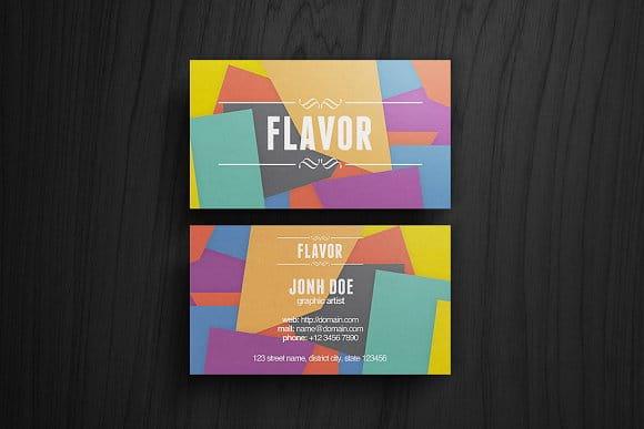 Flavor Business Card (Turbo Premium Space)