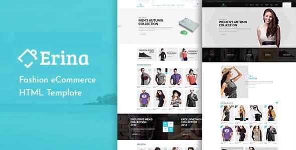Erina - eCommerce Responsive Bootstrap Template