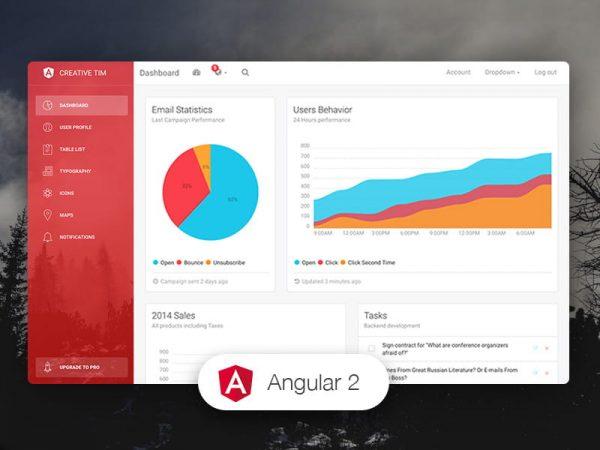 Light Bootstrap Dashboard Angular2