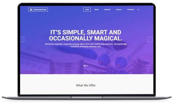 X-Corporation - Bootstrap HTML Template