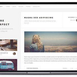 Future-imperfect - Blog Website Templates