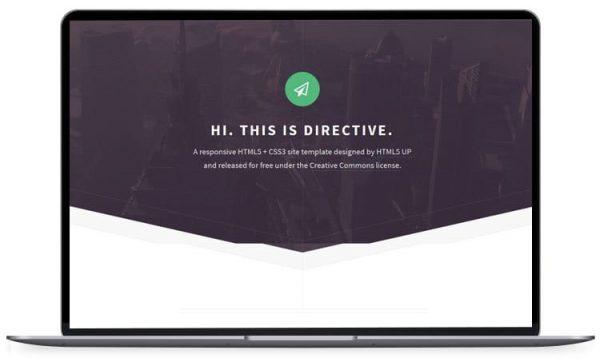 Directive - HTML5 Website Template