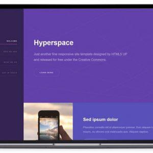 Hyperspace - Corporate Website Template