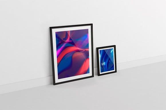 11 Colorful SciFi Texture Background (Turbo Premium Space)