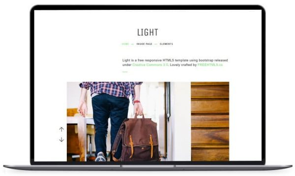 Light - Bootstrap Landing Page Template