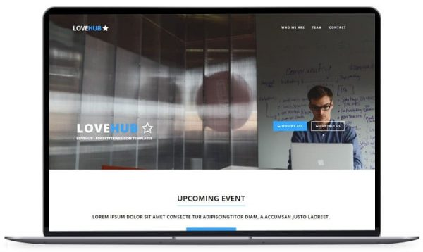 LoveHub – Responsive Multipurpose Template