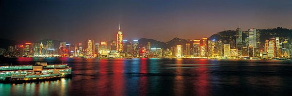 Waterfront Night City River Background (Turbo Premium Space)