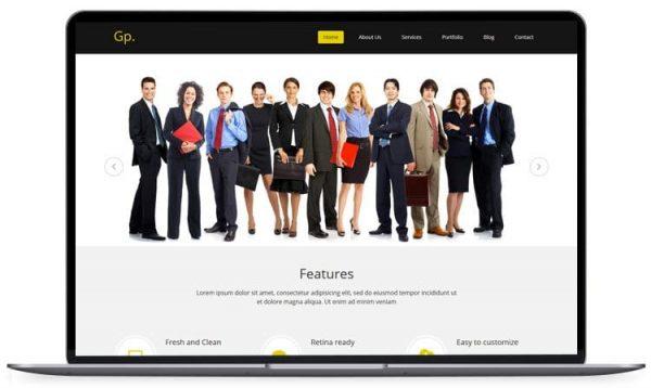 Gp -MultiPurpose HTML Template