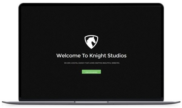 Knight – Bootstrap Landing Page Template