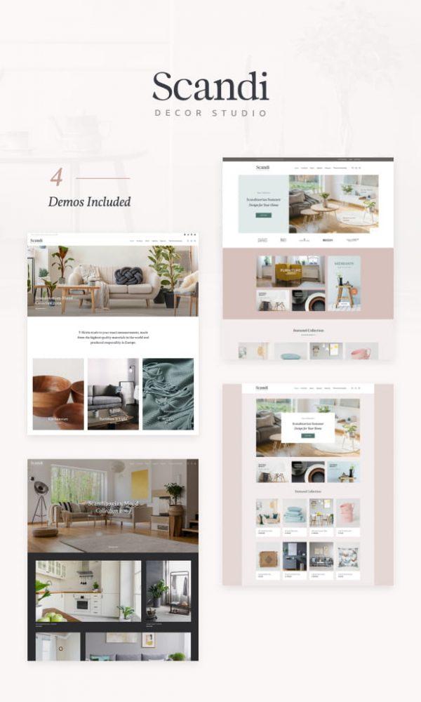 Scandi - Decor & Furniture Shop WooCommerce Theme