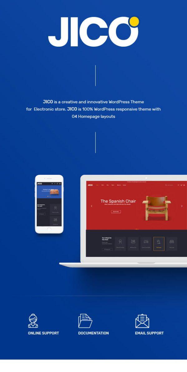 Jico - Furniture & Decor for WooCommerce Wordpress