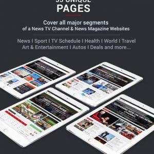 Broadcast News TV CMS