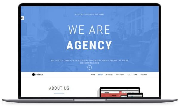 Agency - Corporate Bootstrap Template