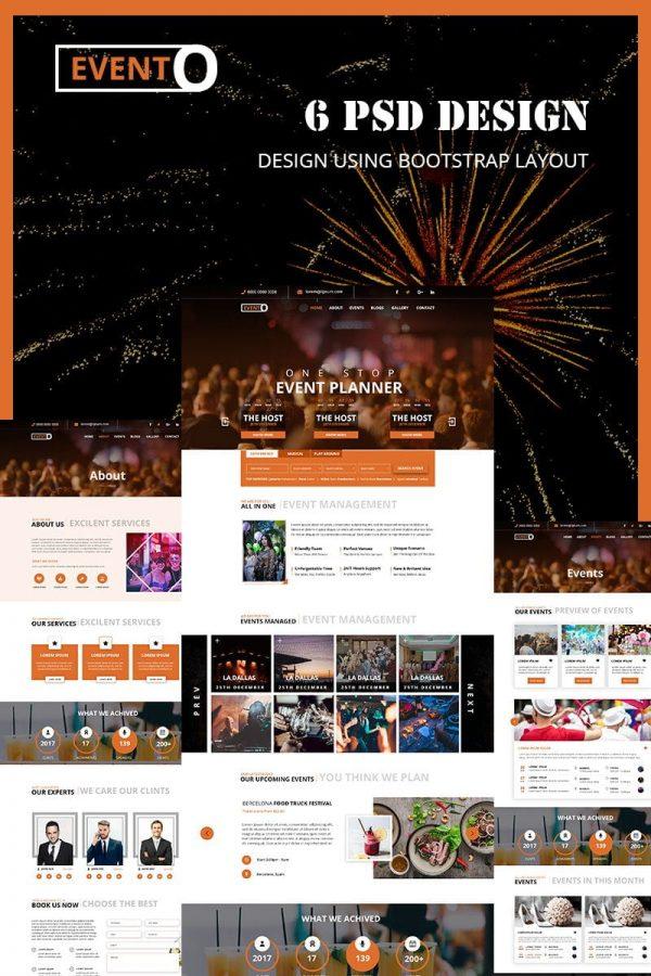 Evento -Music Event Template
