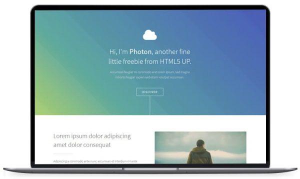 Photon - HTML5 Photography Template