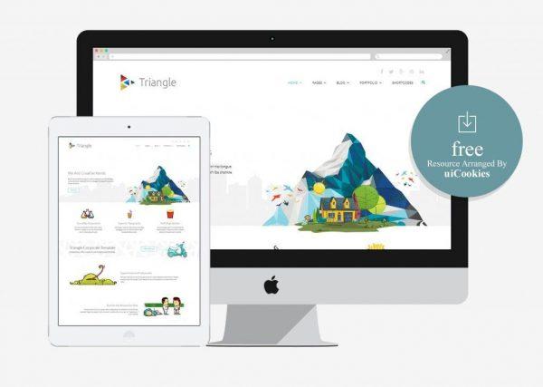Triangle – Responsive Multipurpose Template