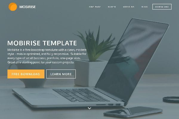 Mobirise – Website Template
