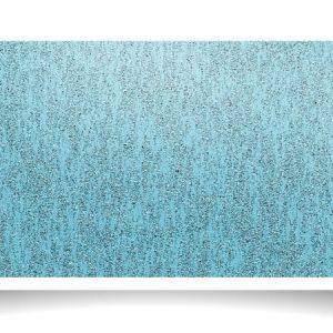 Abstract Blue Shiny Metallic Glossy Texture