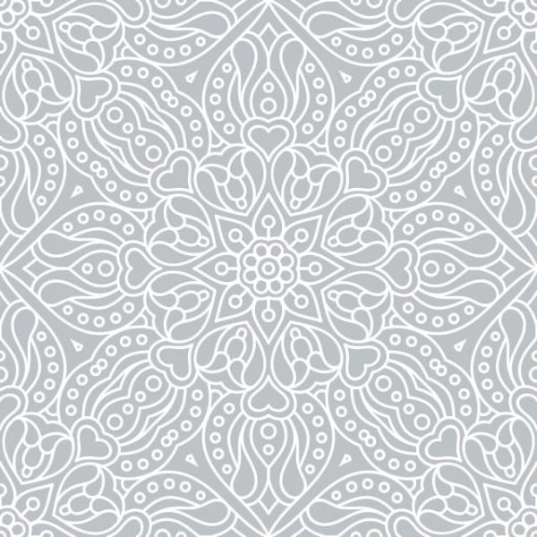 Abstract Ethnic Floral Seamless Pattern (Turbo Premium Space)