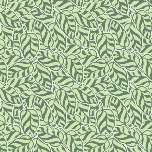 Abstract Leaf Pattern Curl (Turbo Premium Space)