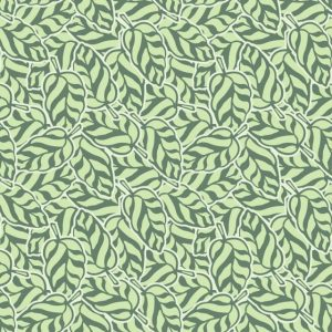 Abstract Leaf Pattern Curl