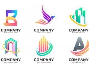 Abstract colorful logo collections.zip