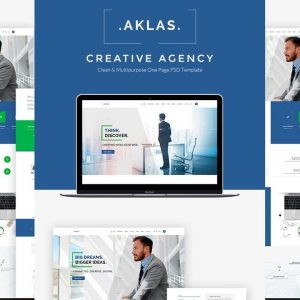 Aklas - Business Creative HTML