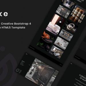 Alke - Minimal Creative Portfolio Template