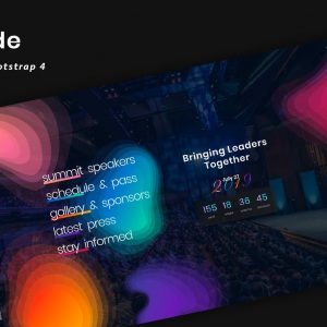 Aoide - Event Bootstrap 4 Template