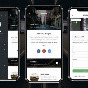 AppBar Mobile