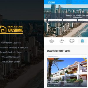 ApusHome - Real Estate WordPress Theme