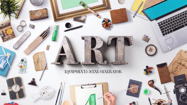 Art Equipments – Scene Generator (Turbo Premium Space)