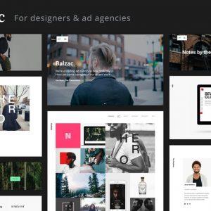 Balzac - A Creative HTML5 Template for Agencies