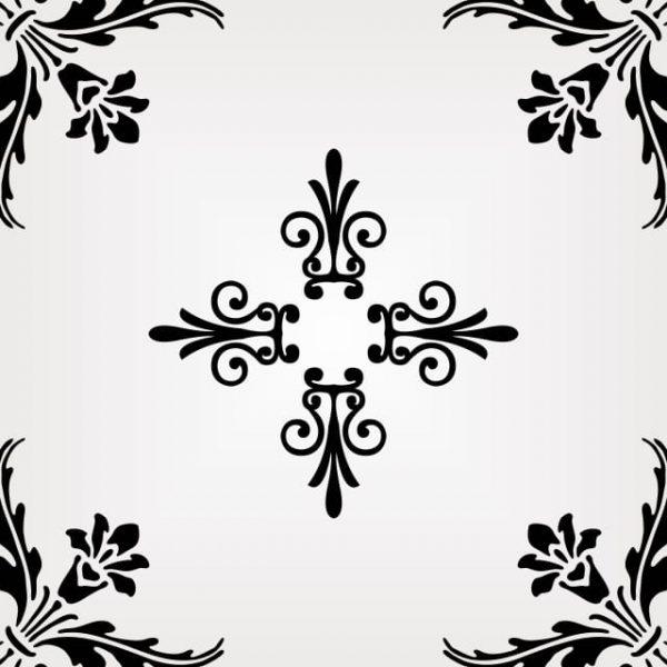Beautiful European Ornamental Pattern