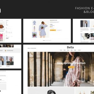 Bella - Multipurpose Fashion eCommerce Template