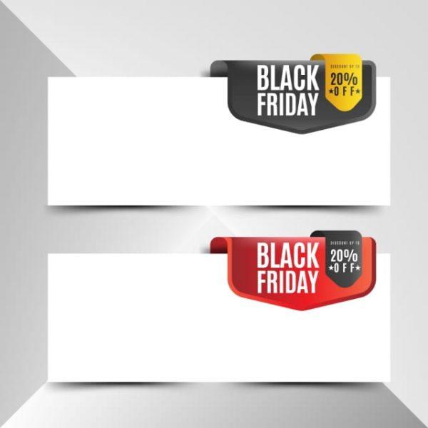 Black Friday Banner Set (Turbo Premium Space)