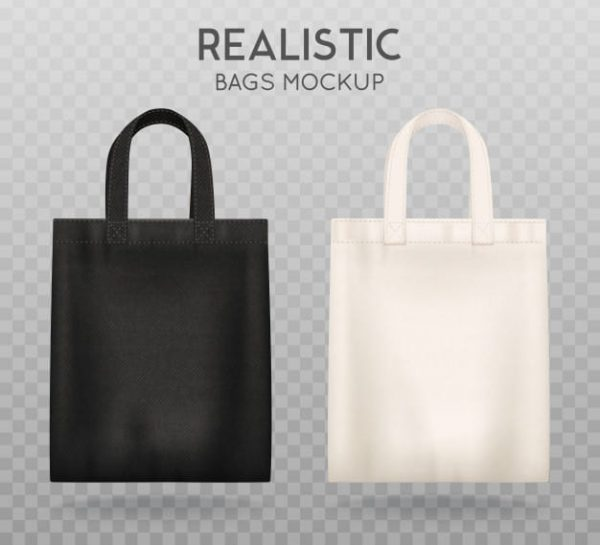 Black and white tote shopping (Turbo Premium Space)