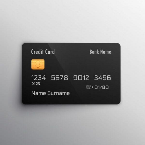 Black credit card (Turbo Premium Space)