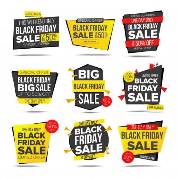 Black friday sale banner Premium Vector (Turbo Premium Space)