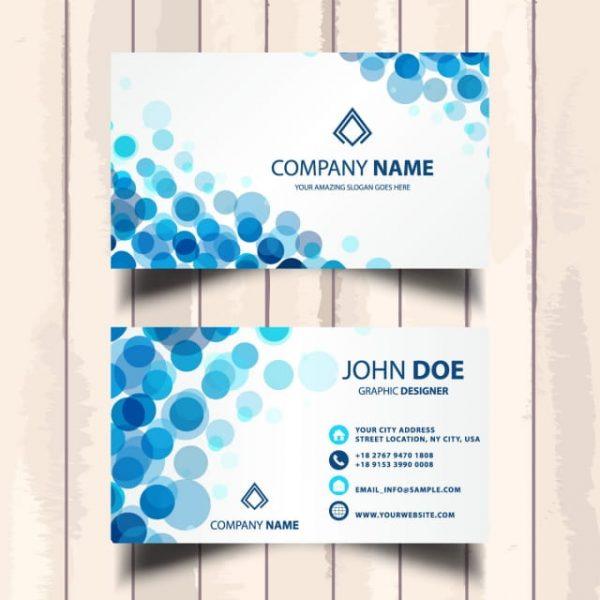 Blue Business Card (Turbo Premium Space)