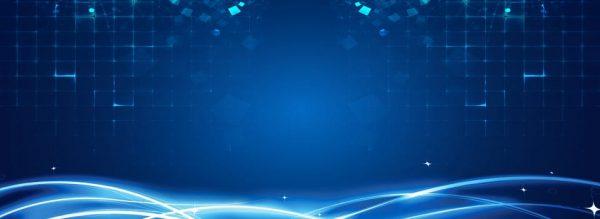 Blue Lines Futuristic Technology Background (Turbo Premium Space)