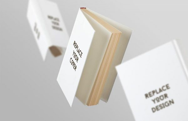 Book Cover Mockup (Turbo Premium Space)