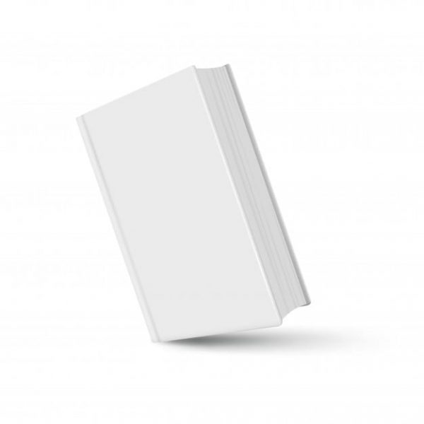 Book mockup white realistic (Turbo Premium Space)