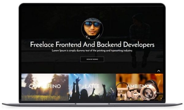 Bootstrap - Personal Website Template