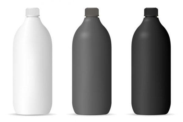 Bottles mockup set (Turbo Premium Space)