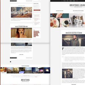 Brixton - Minimal & Personal HTML Blog Template
