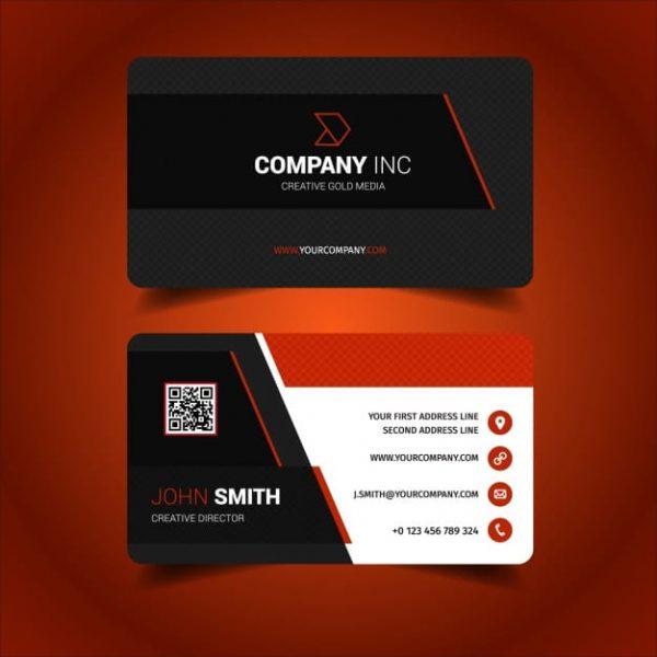 Business card design 1 (Turbo Premium Space)